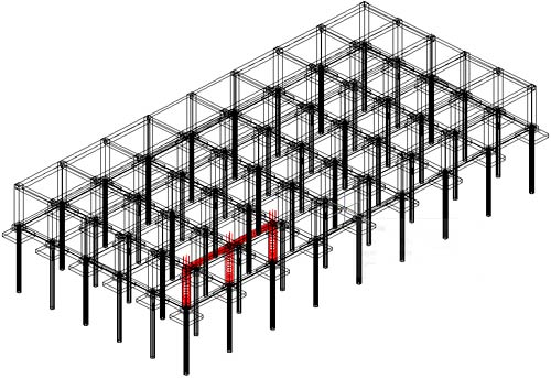 Wie kann ein Bewehrungskorb mit oder ohne Schalung in 3D-Volumenelemente konvertiert und in eine dwf-Datei exportiert werden?