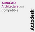 ADVANCE Concrete SP1 este compatibil cu  versiunile 2012 de la Autodesk