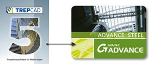 TREPCAD - Datenübernahme nach Advance Steel