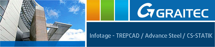 Infotage im November - TREPCAD / Advance Steel / CS-STATIK