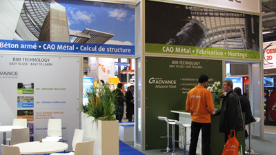 GRAITEC exhibited at BATIMAT 2011