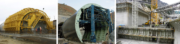 Proiect Advance Steel: Structură metalică pentru susţinerea cofrajelor - ÇEKA LTD., Ankara, Turcia