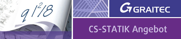 CS-STATIK Sonderaktion STAHLBAU Pakete