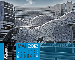 as GRAITEC Kalenderblatt für Mai