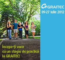 Învcepe-ţi vara cu un stagiu de practică la GRAITEC!