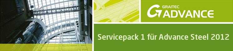 Servicepack 1 für Advance Steel 2012