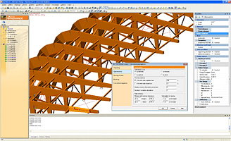 Advance Design 2012: access the Timber Design results, either through CAD or through detailed reports