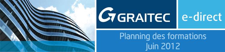Planning des formations Juin 2012