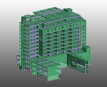 Proiect Advance Concrete: Exdindere Spital La-Roche-Sur-Lyon