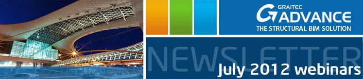 BIM GRAITEC ADVANCE July 2012 webinars