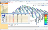 Steel and concrete design according to US codes with Advance Design