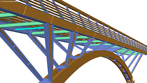 Advance Steel Testimonial: Footbridge construction: Interview with LEGRAND