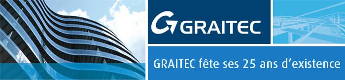 GRAITEC fête ses 25 ans d'existence