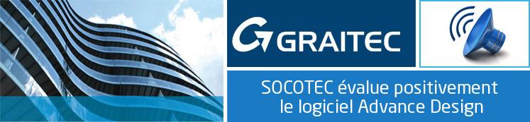 SOCOTEC évalue positivement le logiciel Advance Design