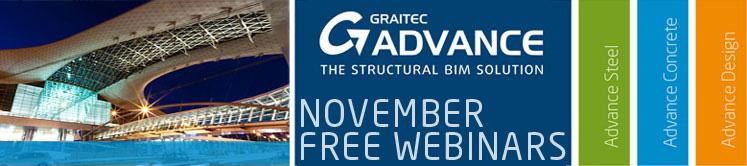 BIM GRAITEC ADVANCE November 2012 webinars