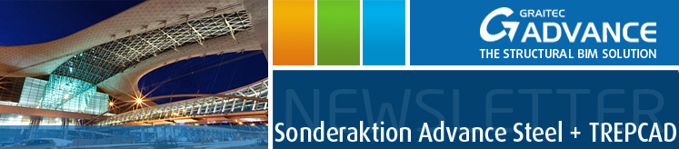 Sonderaktion Advance Steel + TREPCAD
