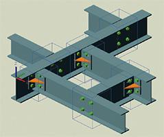 Advance Steel 2013 - Können für die Anschlussgruppierung verwendet werden