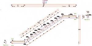 Advance Steel 2013 - Neue Zeichnungsstile für Gitterrostverlegeplan, Treppenwange und Fachwerke