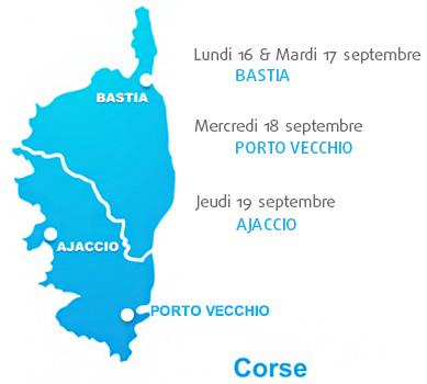 GRAITEC tournée en Corse