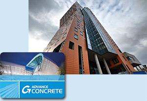 Proiect realizat cu Advance Concrete: AZ Tower, Brno, Cehia