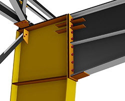 ADVANCE STEEL 2014: WELDED TAPERED PLATE BEAMS