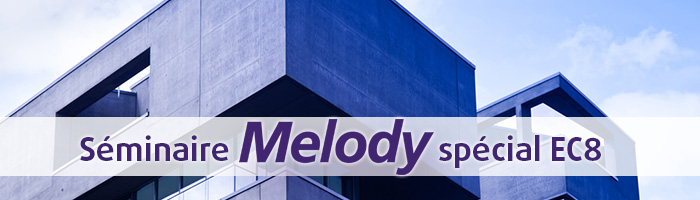 Séminaire Melody spécial EC8 - Anglet