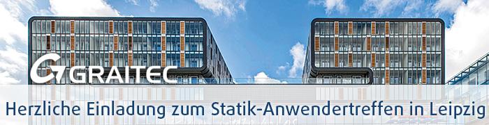 Herzliche Einladung zum Statik Anwendertreffen in Leipzig