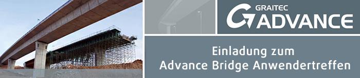Einladung zum Advance Bridge Anwendertreffen