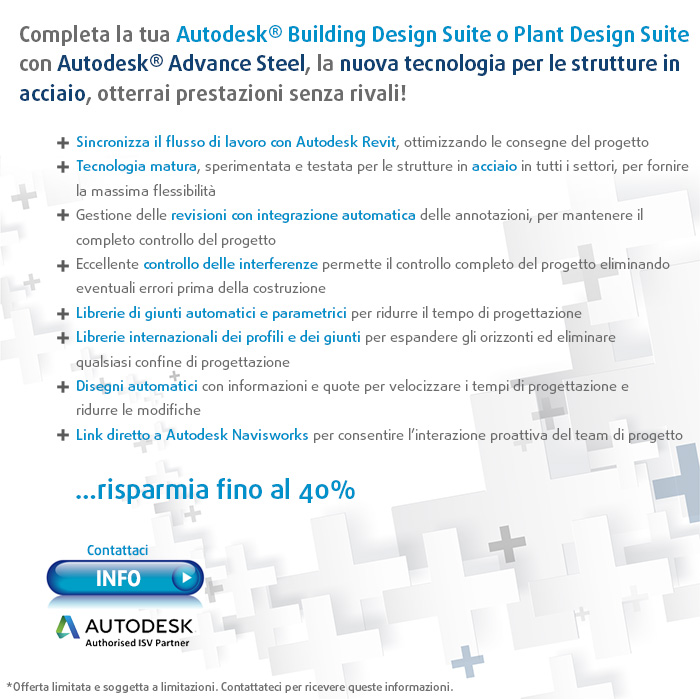 Incrementa la tua Autodesk® Building Design Suite!