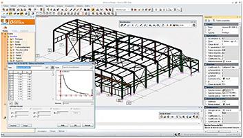 Advance Design 2015: EC8 complété pour les charpentiers métalliques