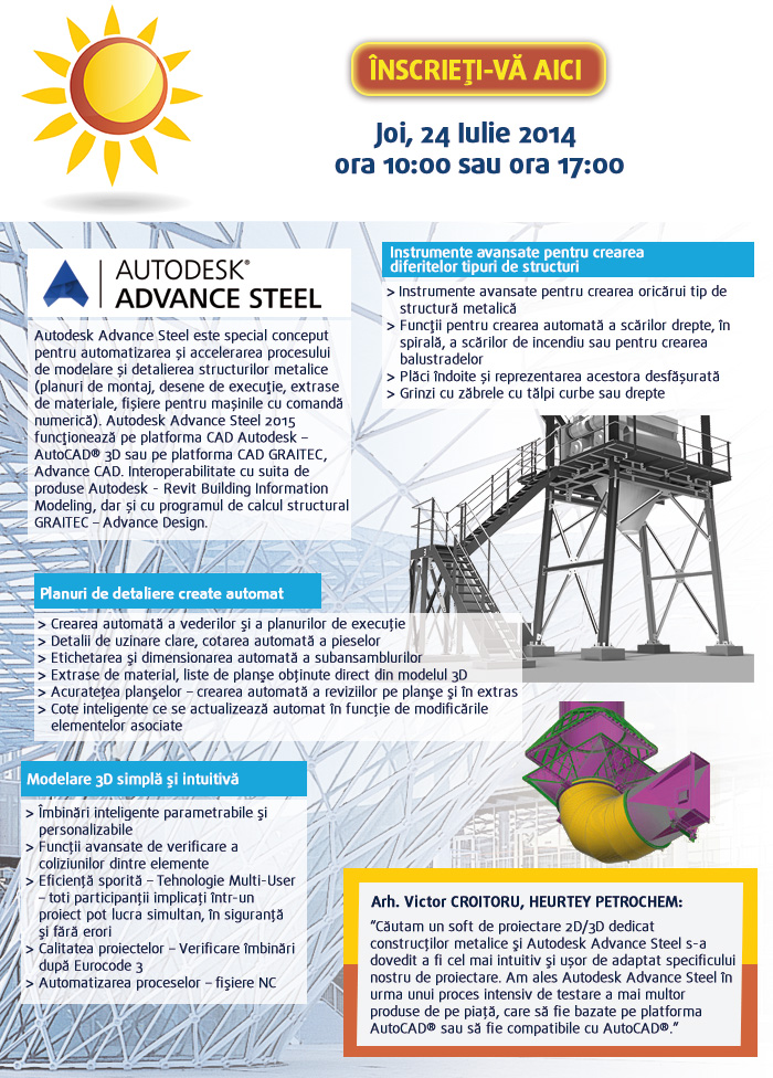 Webinar Autodesk Advance Steel 2015