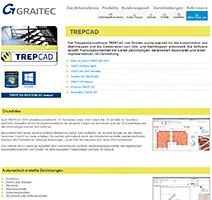 Neue  TREPCAD Webseite