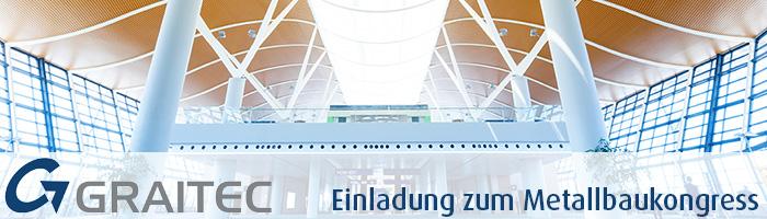 Graitec auf dem Metallbaukongress am 7.11. + 8.11. 2014 in Nürnberg