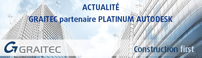 Graitec Revendeur Platinum Autodesk®