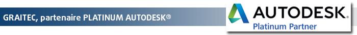 GRAITEC, revendeur Platinum Autodesk®