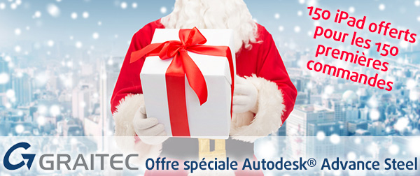 GRAITEC Special offer Autodesk® Advance Steel