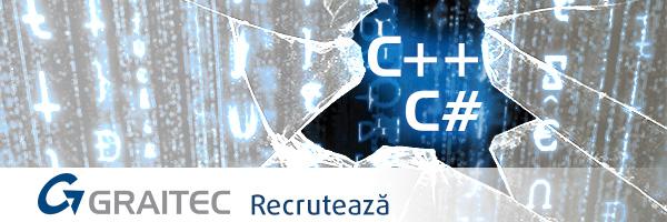 GRAITEC face recrutări în Bucureşti pentru posturile de C++ şi C# Software Developer