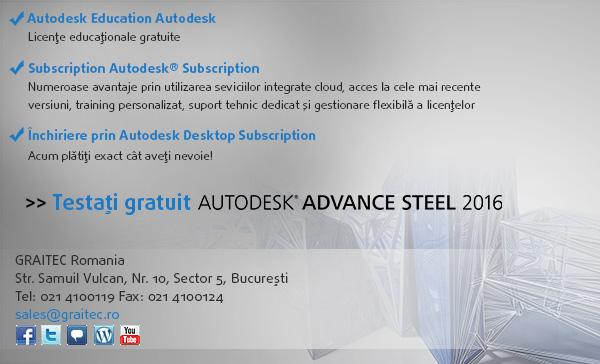 Testati gratuit Advance Steel
