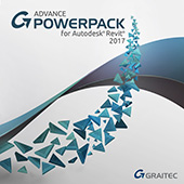 PowerPack for Revit Dynamic vertical application provided by GRAITEC for Autodesk Revit users