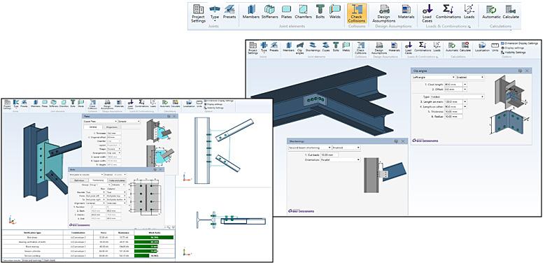 Advance BIM Designers - Stahlbau Serie | Schnelle und flexible Reihe von Apps für die Konstruktion von Stahlbauverbindungen und die Modellierung von Treppen und Geländern