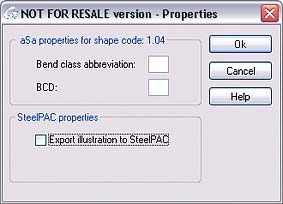 Advance Concrete: Export to rebar fabrication software
