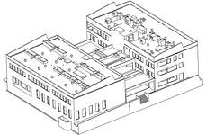 Advance Concrete Projekt: Handwerkskammer von Grenoble - EBS, Monbonnot, Frankreich