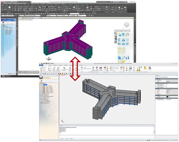 Comment échanger un modèle Autodesk Advance Concrete 2016 ?