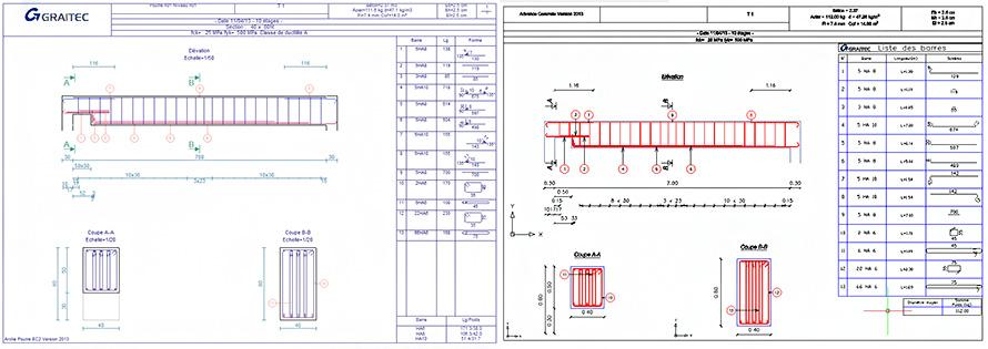 Comment modifier le cartouche dans Advance Concrete pour l'import Arche?