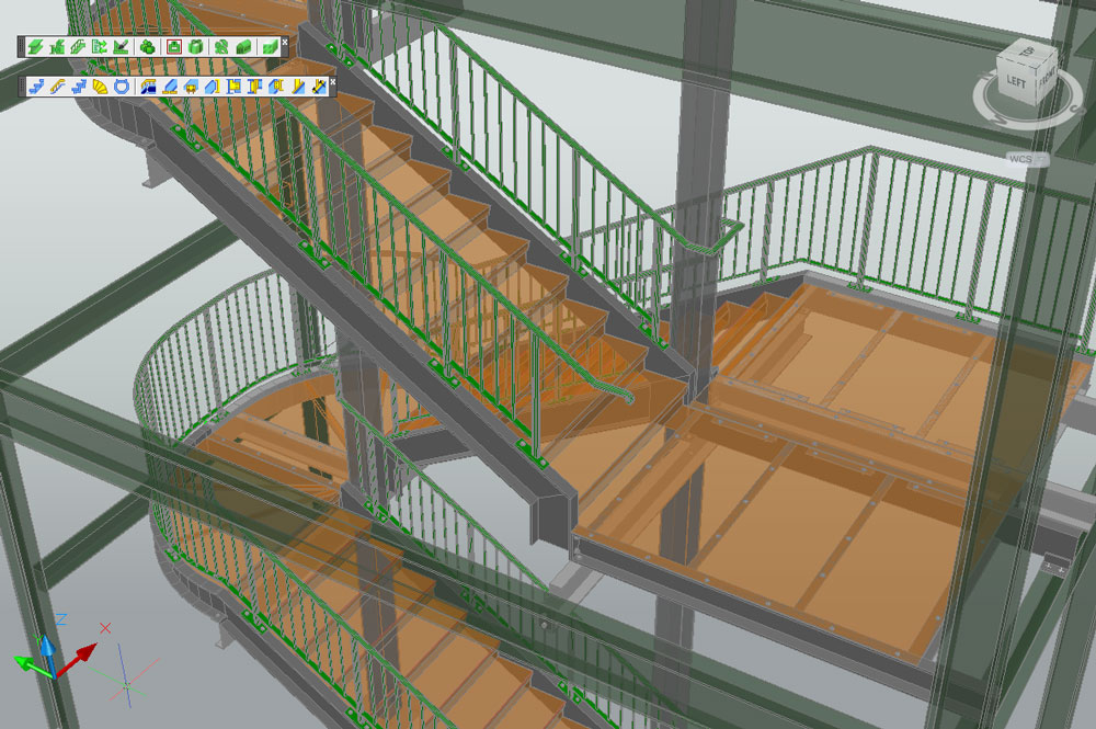 Advance Steel Stairs and Railings