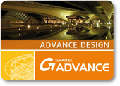Advance Design : program de calcul cu element finit şi dimensionare a structurilor de beton, metal sau lemn