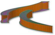 Modelarea elementelor complexe din metal - Placi rasucite