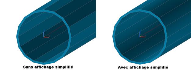 Affichage Simplifié - mode rendu AutoCAD?