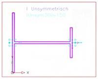 Wie wird ein Anwenderprofil einem Strukturelement, wie z.B. dem Giebelwandrahmen, zugeordnet?