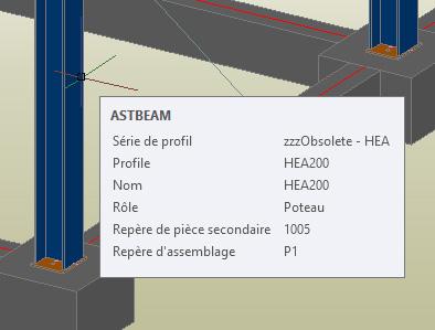 Comment choisir les valeurs des info-bulles de survol des objets AS2015.1 dans AutoCAD